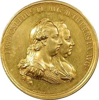 Autriche, Joseph II, la Transylvanie érigée en grande-principauté, par Würth, 1765