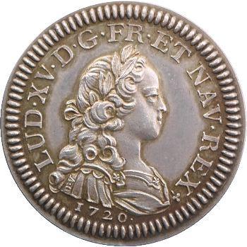 IIIe République, essai du quinzain d'or de Louis XV, s.d. Paris