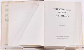 Balog (P.), The Coinage of the Ayyûbids, coll. Royal Numismatic Society Special Publication, London 1980