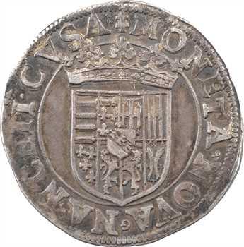 Lorraine (duché de), Charles III, teston, Nancy