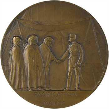Maroc, Maréchal Lyautey, par Dropsy, pacification du Maroc, 1925 Paris