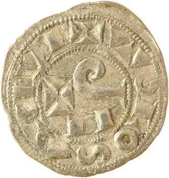 Toulouse (évêché et comté de), Raymond V à VII, denier, s.d. (1148-1249)