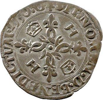Henri II, douzain aux croissants, 1550 Grenoble