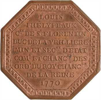 Noblesse du Blaisois, Phelypeaux de la Vrillière, 1770 (post.) Paris