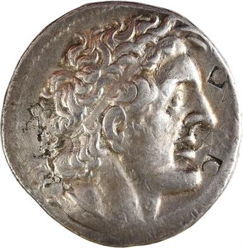 Égypte, Ptolémée II, tétradrachme au bouclier galate, atelier indéterminé, c.275-261 av. J.-C