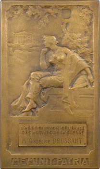 Blin (É.) : D'après l'Antique, Association générale des mutilés de la guerre, en bronze, par Blin, s.d. Paris
