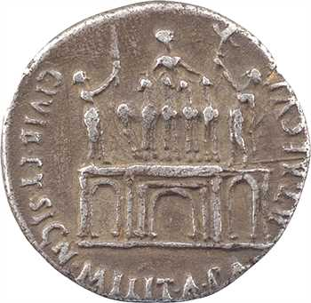 Auguste, denier, Colonia Patricia, 18-16 av. J.-C.