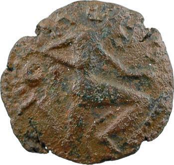 Bellovaques, bronze au personnage courant, Ier s. av. J.-C.