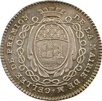 Bretagne, Nantes (mairie de), Gellée de Prémion, maire, 1780-1781