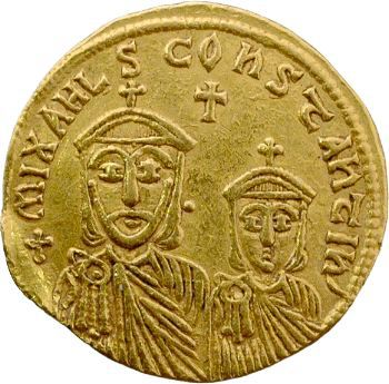 Théophile, solidus, Constantinople, 829-842