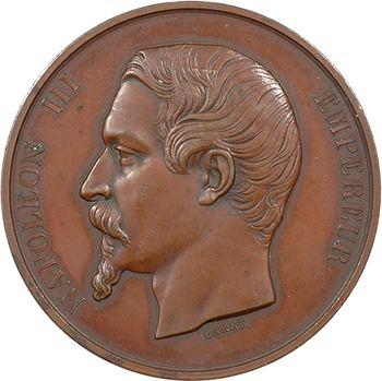 Second Empire, visite de Napoléon III à la Monnaie, 3 mai 1854, Paris