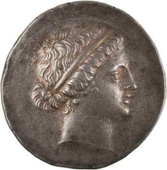 Éolide, Kymé, tétradrachme au nom de Kallias, c.165 av. J.-C