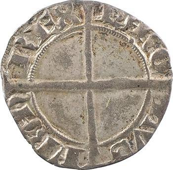 Dauphiné, Viennois (dauphins du), Charles II dauphin et Roi (Charles VI), liard dentillé, s.d. Romans