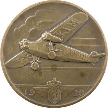 Pays-Bas, KLM (Compagnie royale d'aviation), premiers vols entre les Pays Bas et les Indes Orientales, 1928