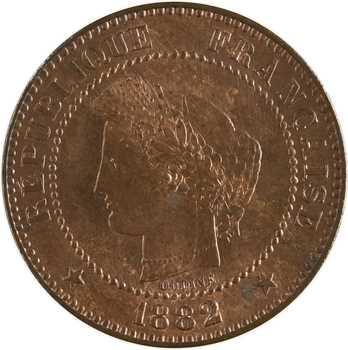 IIIe République, 2 centimes Cérès, 1882 Paris