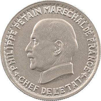 État français, 5 francs Pétain, 1941 Paris