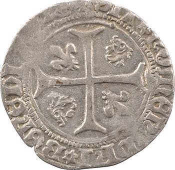 Dauphiné, Viennois (dauphins du), Louis II dauphin, blanc, s.d. Romans