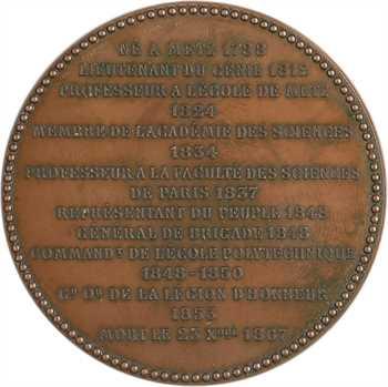 Russie, la mort du Général Poncelet (Campagne de Russie de 1812), par Oudiné, 1867 Paris