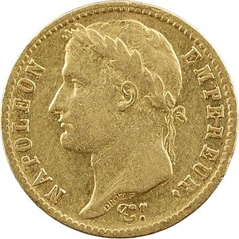 Premier Empire, 20 Francs Empire, 1812 Toulouse