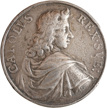 Allemagne, Deux-Ponts-Landsberg (palatinat), Charles IX, au gouvernement heureux, par Arvid Karlsteen, 1679