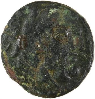 Thrace, Thasos, bronze AE 16, c.168-80 av. J.-C