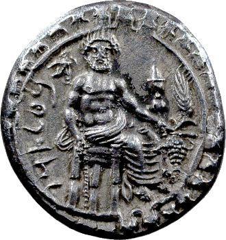 Cilicie, Datame, statère, Tarse, 378-372 av. J.-C.