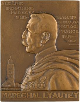 Exposition coloniale de Paris 1931, le maréchal Lyautey, par Delamarre, 1931 Paris