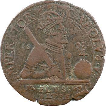 Franche-Comté, Besançon, jeton des services de comptes de la cité, 1592