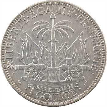 Haïti (République d'), gourde, 1881 Paris