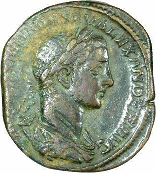 Sévère Alexandre, sesterce, 231