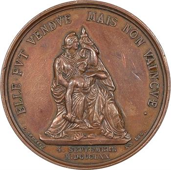 IIIe République, proclamation de la IIIe République, par Schmitt, 1871 Lyon