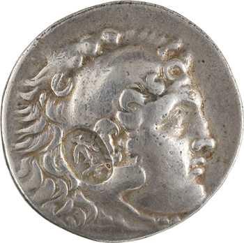 Macédoine, au nom d'Alexandre le Grand, tétradrachme, Phaselis, IB = l'An 12, c.207-206 av. J.-C