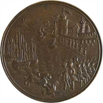 Royaume-Uni, George II, victoire à Toulon contre la flotte franco-espagnole (Action off Toulon), 1743-1744