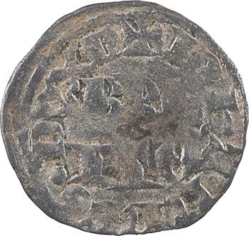 Bretagne (duché de), Jean de Montfort, dit le Captif, denier tournois, s.d. (c.1343) atelier N (Nantes ?)