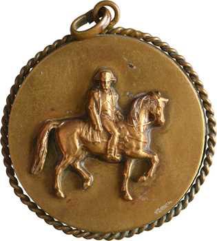 Premier Empire, l'Empereur chevauchant, s.d. (post.)