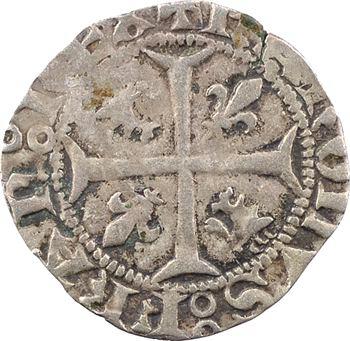 Dauphiné, Viennois (dauphins du), Charles III dauphin et Roi (Charles VII), quart de gros, s.d. Romans