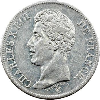 Charles X, 5 francs 1er type, 1826 Paris