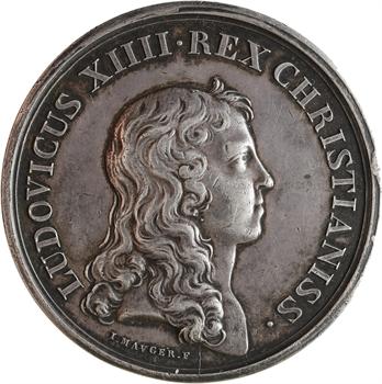 Louis XIV, la majorité du Roi, par Mauger, 1651 Paris