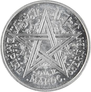 Maroc, Mohammed V, essai de 2 francs, AH 1370 (1951) Paris