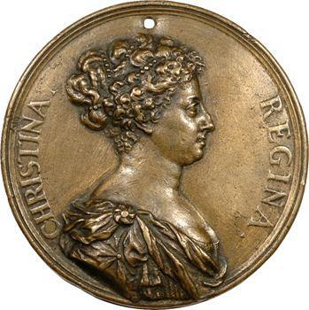 Suède, Christine de Suède, par Giovanni Battista Guglielmada, s.d