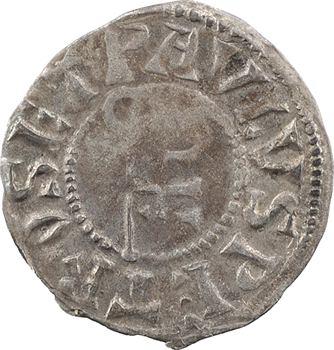 Cluny (abbaye de), denier anonyme, s.d. (XIIe s.) Cluny