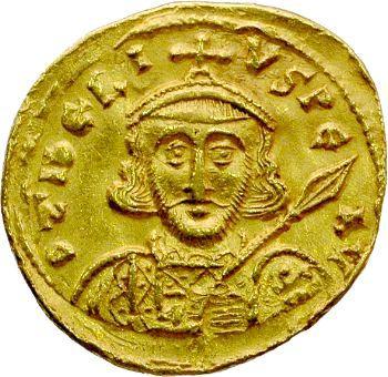 Tibère III, solidus, Constantinople, 698-705