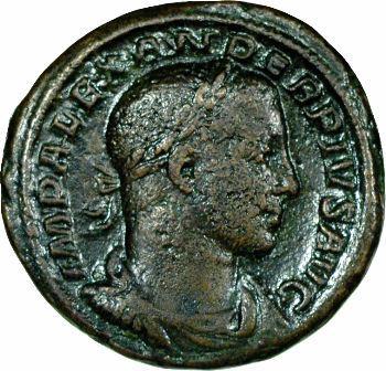 Sévère Alexandre, as, 233