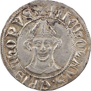 Cambrai (évêché de), Nicolas de Fontaines, petit gros ou double esterlin, s.d. (1249-1273) Cambrai