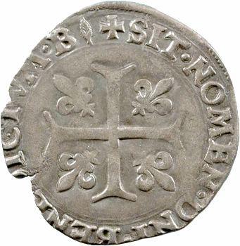 François Ier, blanc Franciscus ou dizain, Bourges