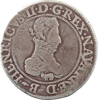 Béarn (seigneurie de), Henri II, franc, 1580 Pau