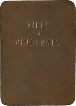 Vincennes, plaquette de la ville, s.d