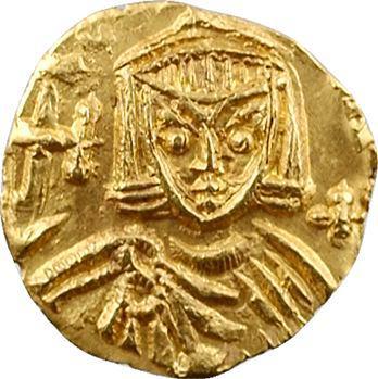 Léon III, trémissis, Syracuse
