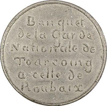 IIe République, banquet de la Garde nationale, 1848 Paris