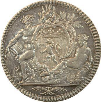 Lyonnais, Lyon, Alexandre Antoine Regny trésorier, 1785